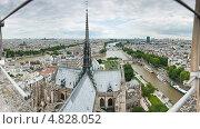 Купить «Панорама Парижа с собора Нотр-Дам-де-Пари», фото № 4828052, снято 25 июня 2013 г. (c) Екатерина Овсянникова / Фотобанк Лори