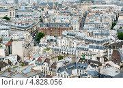 Купить «Вид на Париж с Нотр-Дам-де-Пари», фото № 4828056, снято 25 июня 2013 г. (c) Екатерина Овсянникова / Фотобанк Лори