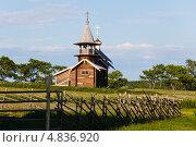 Купить «Остров Кижи. Часовня Архангела Михаила», фото № 4836920, снято 7 июня 2013 г. (c) Igor Lijashkov / Фотобанк Лори