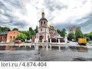 Купить «Церковь Рождества Христова в Измайлове, Москва», эксклюзивное фото № 4874404, снято 11 июня 2013 г. (c) lana1501 / Фотобанк Лори