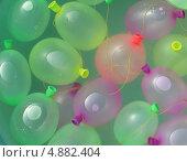 Водяные бомбочки. Стоковое фото, фотограф Михаил Дозоров / Фотобанк Лори