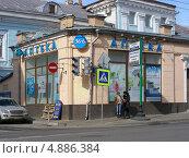 Купить «Аптека 36,6 на улице Покровка, Москва», эксклюзивное фото № 4886384, снято 11 апреля 2013 г. (c) lana1501 / Фотобанк Лори