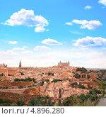 Купить «Вид на Толедо, Испания», фото № 4896280, снято 29 марта 2020 г. (c) Лукиянова Наталья / Фотобанк Лори