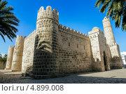 Крепость Рибат, монастырь в городе Сус в Тунисе (2013 год). Стоковое фото, фотограф Антон Куделин / Фотобанк Лори