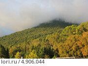 Абхазия, небо над г. Гагры  в сентябре. Стоковое фото, фотограф Анна Самохина / Фотобанк Лори