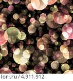 Розово-зеленый фон из кругов. Стоковая иллюстрация, иллюстратор Анна Павлова / Фотобанк Лори