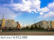 Г. Братск, ул. Советская (2013 год). Редакционное фото, фотограф Петренко Иван / Фотобанк Лори