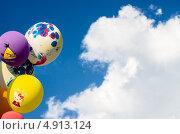 Шарики в небе (2013 год). Редакционное фото, фотограф Дмитрий Дорошин / Фотобанк Лори