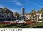 Купить «Княжество Монако, Монте-Карло, площадь перед казино», фото № 4914348, снято 18 января 2013 г. (c) Евгения Фашаян / Фотобанк Лори