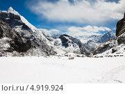 Купить «Красивый горный пейзаж. Гималаи», фото № 4919924, снято 11 апреля 2013 г. (c) Оксана Гильман / Фотобанк Лори
