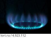 Горящий газ. Стоковое фото, фотограф Максим Савин / Фотобанк Лори