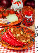 Купить «Калабрия, традиционная еда», фото № 4926992, снято 21 июня 2013 г. (c) ElenArt / Фотобанк Лори