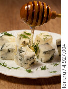 Купить «Итальянская кухня - сыр горгонзола», фото № 4927004, снято 30 июня 2011 г. (c) ElenArt / Фотобанк Лори