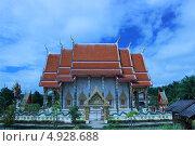 Буддийский храм Краби, Таиланд (2013 год). Стоковое фото, фотограф Бакиров Дмитрий / Фотобанк Лори
