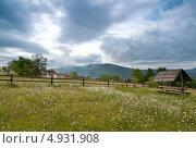 Купить «Карпатский пейзаж», фото № 4931908, снято 17 мая 2009 г. (c) Никончук Алексей / Фотобанк Лори