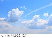Голубое небо. Стоковое фото, фотограф Татьяна Жданова / Фотобанк Лори