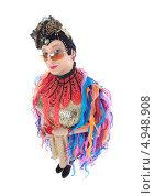 Купить «Актер травести в образе гламурной модницы», фото № 4948908, снято 11 августа 2013 г. (c) Discovod / Фотобанк Лори