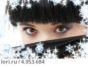 Купить «Брюнетка с таинственным взглядом», фото № 4953684, снято 12 апреля 2008 г. (c) Syda Productions / Фотобанк Лори