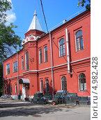 Купить «Городская клиническая больница № 14 им. В.Г. Короленко, Москва», эксклюзивное фото № 4982428, снято 8 августа 2013 г. (c) lana1501 / Фотобанк Лори