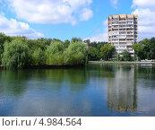 Купить «Егерский пруд, Восточный округ, Москва», эксклюзивное фото № 4984564, снято 2 августа 2013 г. (c) lana1501 / Фотобанк Лори