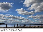 Купить «Пережитки советской эпохи - Хара - залив Балтийского моря», фото № 4992772, снято 24 августа 2013 г. (c) Aleksander Kaasik / Фотобанк Лори