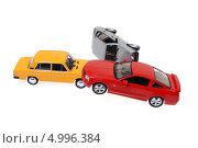 Авария игрушечных автомобилей. ДТП. Стоковое фото, фотограф Юрий Морозов / Фотобанк Лори