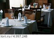 Купить «Ресторан», фото № 4997248, снято 19 июля 2010 г. (c) Николай Комаровский / Фотобанк Лори