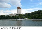 Набережная Москвы (2013 год). Стоковое фото, фотограф Lina / Фотобанк Лори
