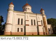 Белая Церковь в Вильнюсе. Стоковое фото, фотограф Sergejus Savickis / Фотобанк Лори