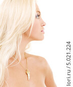 Купить «Привлекательная светловолосая девушка крупным планом», фото № 5021224, снято 19 июля 2008 г. (c) Syda Productions / Фотобанк Лори
