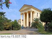 Купить «Художественный музей в Сочи», эксклюзивное фото № 5037192, снято 17 августа 2013 г. (c) Григорий Писоцкий / Фотобанк Лори