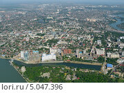 Купить «Краснодар, вид сверху», фото № 5047396, снято 8 мая 2013 г. (c) Виктор Затолокин/Victor Zatolokin / Фотобанк Лори