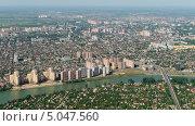 Купить «Город Краснодар, вид сверху», фото № 5047560, снято 8 мая 2013 г. (c) Виктор Затолокин/Victor Zatolokin / Фотобанк Лори