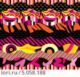 Купить «Бесшовный абстрактный фон», иллюстрация № 5058188 (c) Касьянова Татьяна / Фотобанк Лори