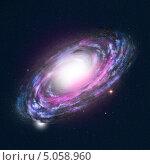 Купить «Спиральная галактика», иллюстрация № 5058960 (c) Сергей Куров / Фотобанк Лори