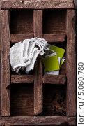 Купить «Чайные пакетики с травяным чаем в деревянном ящике», фото № 5060780, снято 17 сентября 2013 г. (c) Лисовская Наталья / Фотобанк Лори