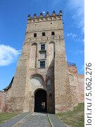 Замок Любарта в Луцке (2013 год). Стоковое фото, фотограф Владимир Одегов / Фотобанк Лори