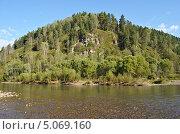 Река Саракокша. Стоковое фото, фотограф Леонид Замыцкий / Фотобанк Лори