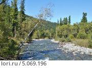 Река Каракокша. Стоковое фото, фотограф Леонид Замыцкий / Фотобанк Лори