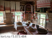 Купить «Фрагмент интерьера старинного русского дома», фото № 5073484, снято 10 июля 2020 г. (c) FotograFF / Фотобанк Лори
