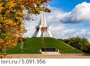 Купить «Курган Бессмертия. г. Брянск», фото № 5091956, снято 24 января 2013 г. (c) Руслан Митин / Фотобанк Лори