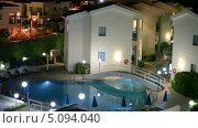 Купить «Территория отеля Kissos в городе Пафос, Кипр», видеоролик № 5094040, снято 26 сентября 2013 г. (c) Кекяляйнен Андрей / Фотобанк Лори