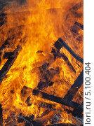 Купить «Огонь - горящее дерево», фото № 5100404, снято 29 сентября 2013 г. (c) SevenOne / Фотобанк Лори