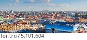 Купить «Панорама Санкт-Петербурга от Исаакиевского собора», фото № 5101604, снято 16 июня 2019 г. (c) Яков Филимонов / Фотобанк Лори