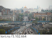 Купить «Комсомольский проспект. Район Хамовники. Москва», эксклюзивное фото № 5102664, снято 6 мая 2010 г. (c) lana1501 / Фотобанк Лори