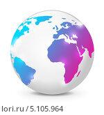 Купить «Иконка глобус», иллюстрация № 5105964 (c) Евгения Малахова / Фотобанк Лори