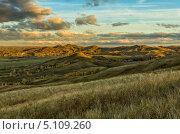 Пейзаж горной местности. Стоковое фото, фотограф Александр Кислицын / Фотобанк Лори