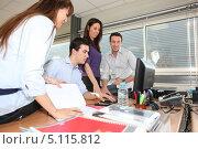 Купить «Офисная работа», фото № 5115812, снято 13 февраля 2010 г. (c) Phovoir Images / Фотобанк Лори
