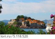 Остров Святого Стефана в Черногории (2013 год). Стоковое фото, фотограф Андрей Сериков / Фотобанк Лори