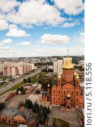 Купить «Знаменский кафедральный собор в городе Кемерово», фото № 5118556, снято 6 сентября 2013 г. (c) Константин Челомбитко / Фотобанк Лори